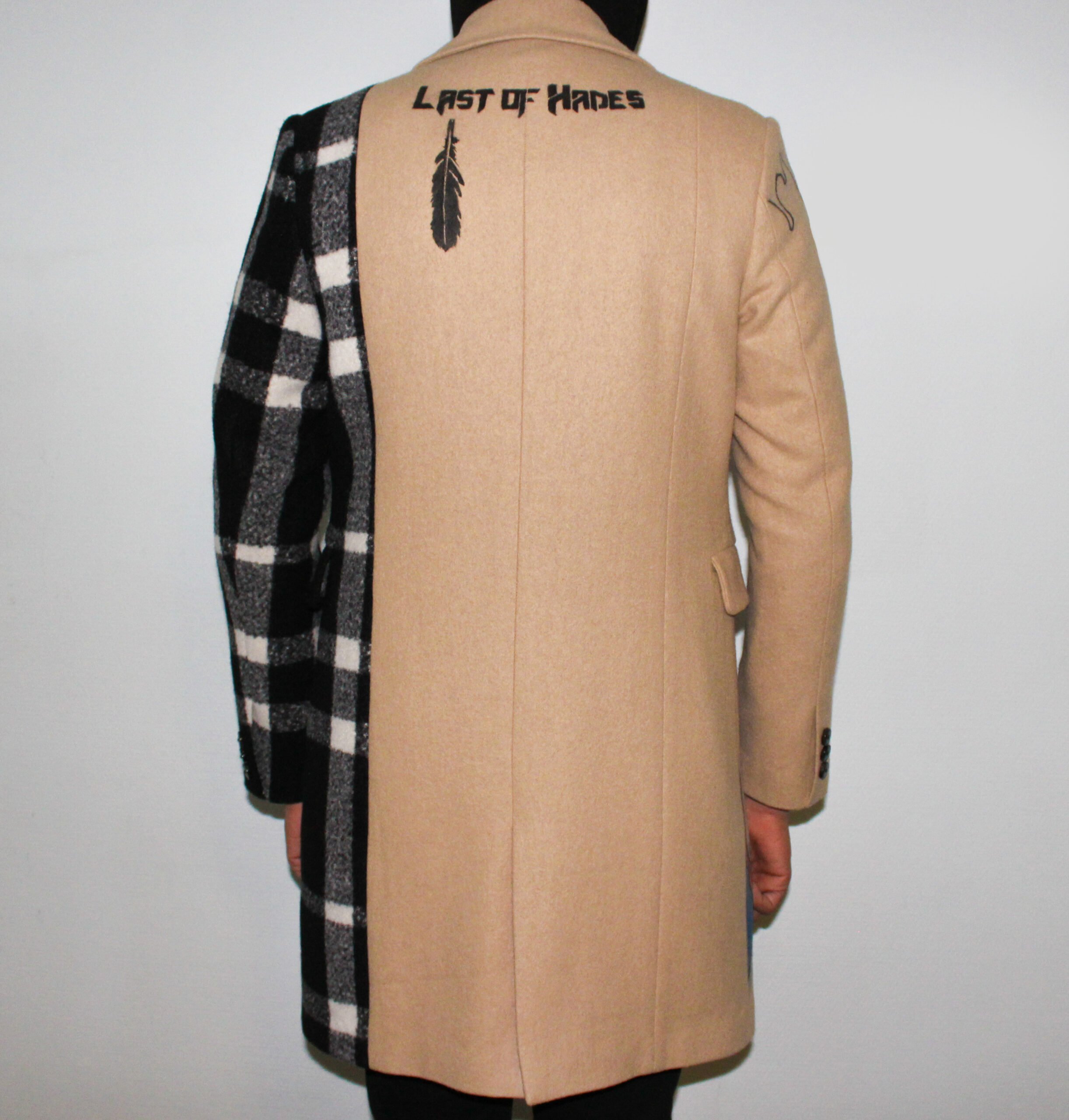 Last of Hades back overcoat