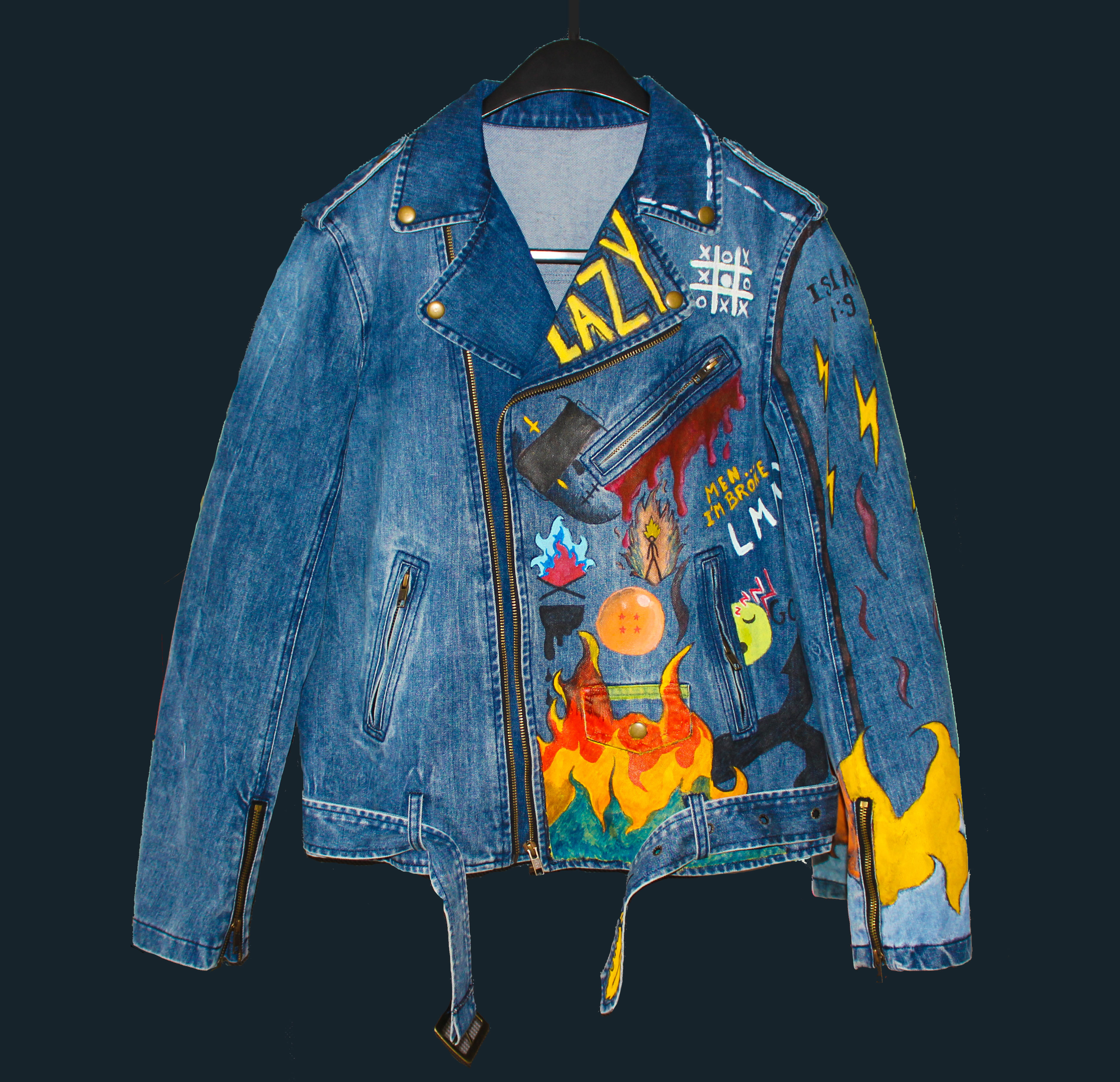 customized denim jacket exclusive designed jackets by last of hades