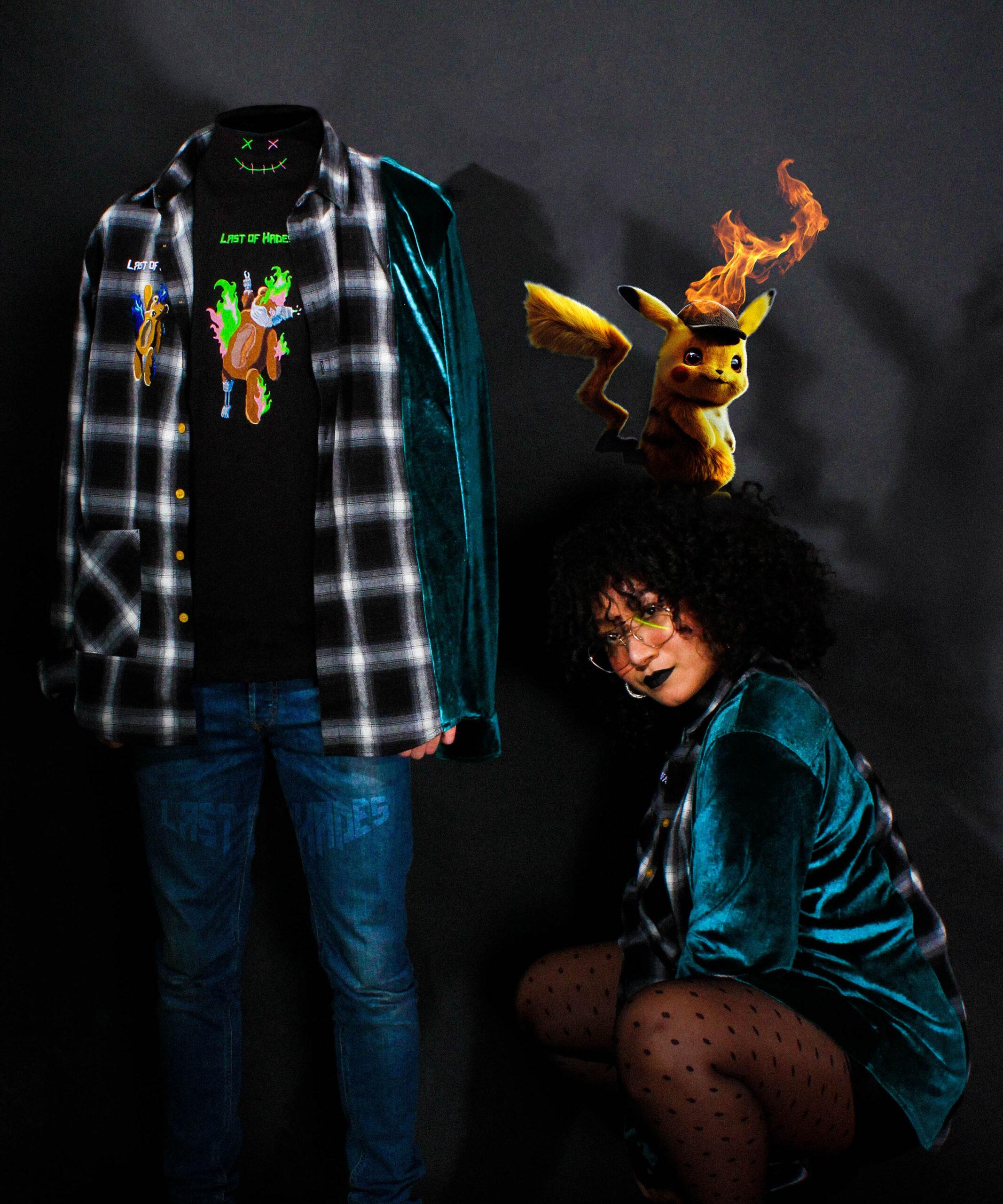 velour shirt models